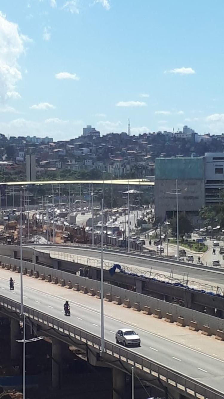 Protesto deixa o trânsito lento na região | Foto: Divulgação - Foto: Divulgação