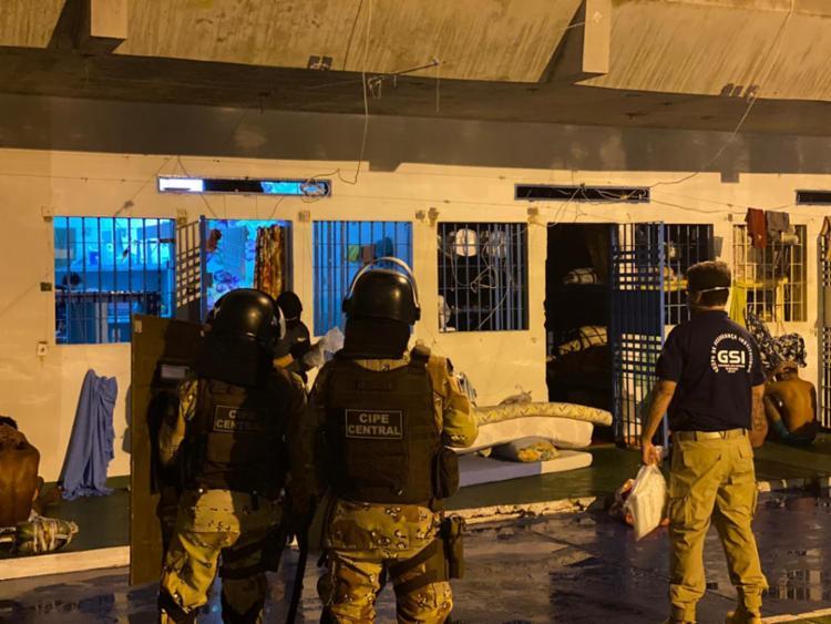 Ação realizada por diversas forças de segurança   Foto: Divulgação   Ministério Público - Foto: Divulgação   Ministério Público