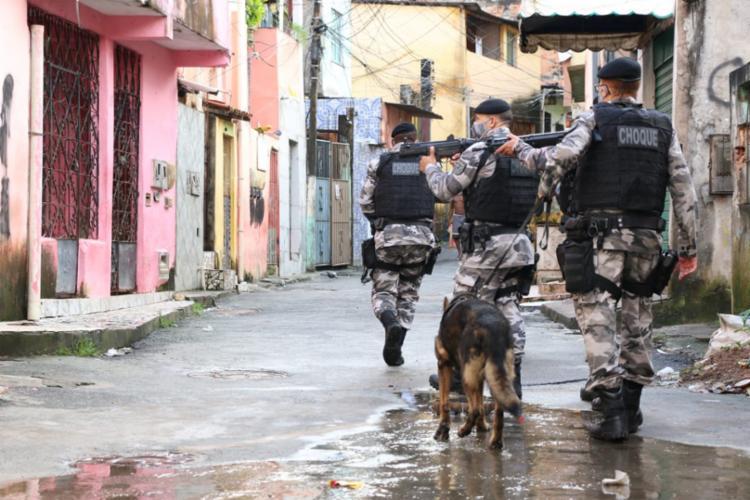 Medida ocorre após constantes confrontos entre criminosos na localidade | Foto: Alberto Maraux | SSP-BA - Foto: Alberto Maraux | SSP-BA