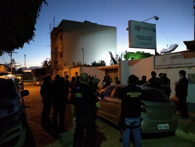 Na Bahia, mandados de busca e apreensão são cumpridos em São Gabriel e Irecê | Foto: Divulgação | MP-BA - Foto: Divulgação | MP-BA