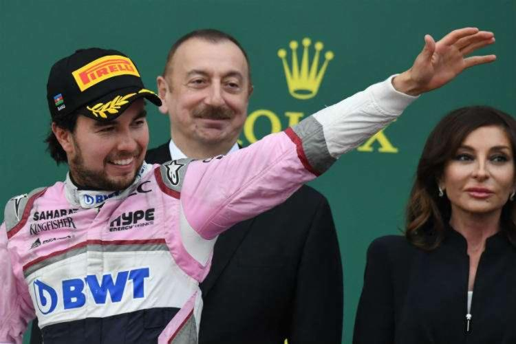 O teste positivo de Pérez é o primeiro de um piloto de F1 e provoca o nervosismo de dirigentes e de fãs   Foto: Kirill Kudryavtsev   AFP - Foto: Kirill Kudryavtsev   AFP