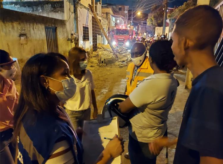Moradores vão receber auxílio funeral e auxílio da Sempre, diz pasta - Foto: Divulgação