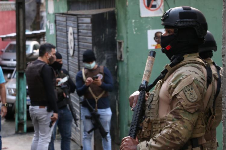 Operação aconteceu após denúncias | Foto: Alberto Maraux | SSP - Foto: Alberto Maraux | SSP