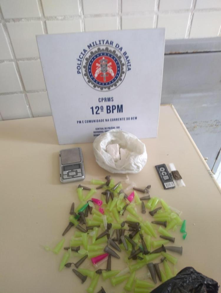 O suspeito já responde por porte ilegal de arma de fogo | Foto: Divulgação - Foto: Divulgação