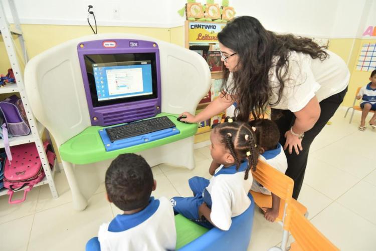 Taxa de escolarização de crianças em Salvador na pré-escola chegou em 98,8 | Foto: Max Haack | Secom - Foto: Max Haack | Secom
