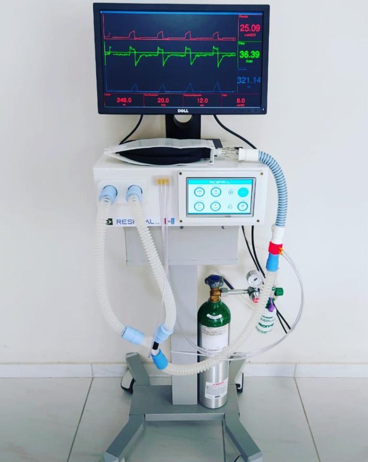 Elaboração de protótipo de respirador custou R$ 6.500 | Foto: Secti | Divulgação - Foto: Secti | Divulgação