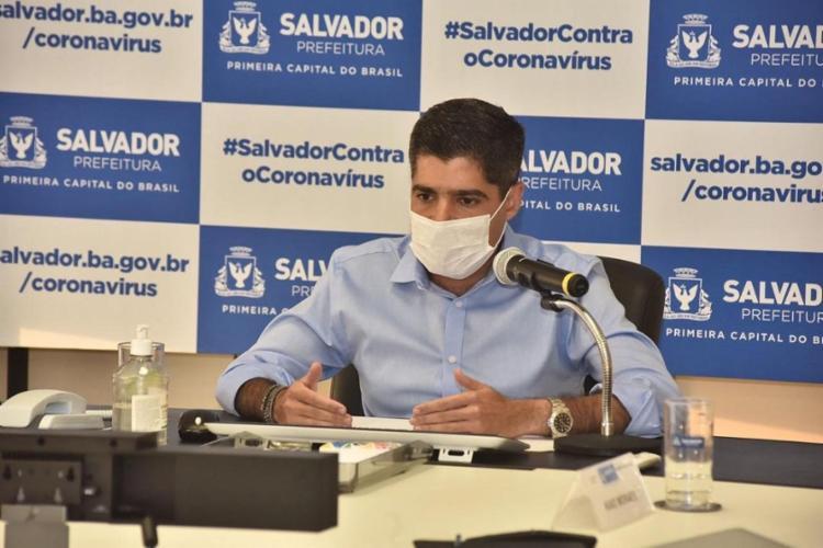 Prefeito disse que planeja se reunir com o governador ainda nesta semana - Foto: Divulgação | Secom