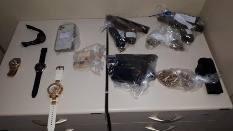 Nas casas dos suspeitos foram aprendidos diversos materiais | Foto: Divulgação | SSP - Foto: Divulgação | SSP