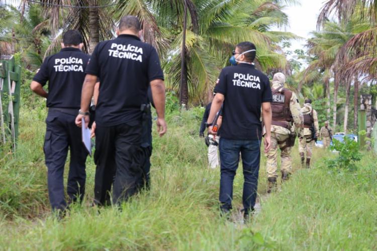 Participam da simulação todas as equipes envolvidas na operação | Foto: Alberto Maraux | SSP-BA - Foto: Alberto Maraux | SSP-BA
