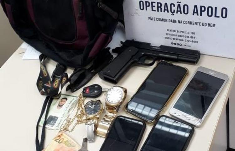 Homens foram encaminhados para Delegacia de Repressão a Furtos e Roubos de Veículos | Foto: Divulgação | SSP - Foto: Divulgação | SSP