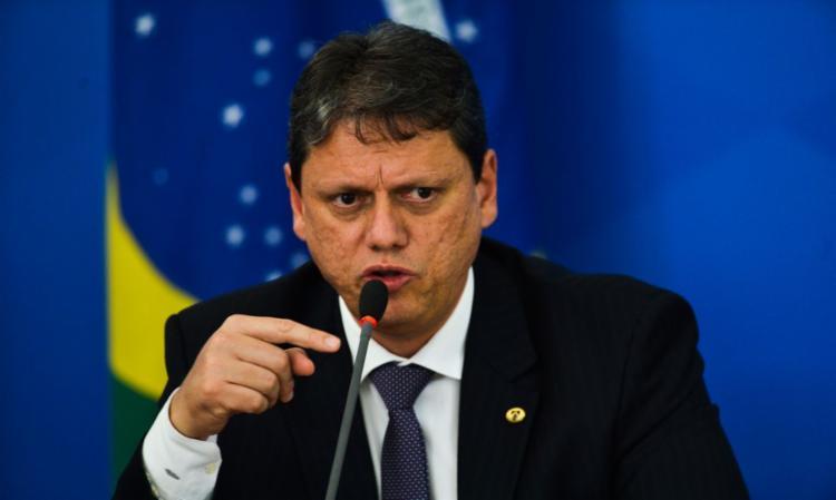 Tarcísio de Freitas diz que Congresso precisa enfrentar questão | Foto: Marcello Casal Jr. | Agência Brasil - Foto: Marcello Casal Jr. | Agência Brasil