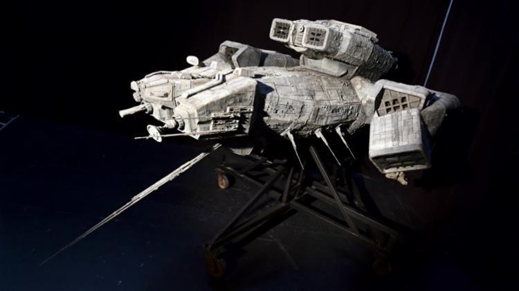 Maquete da nave interestelar em que se desenvolve a trama do clássico