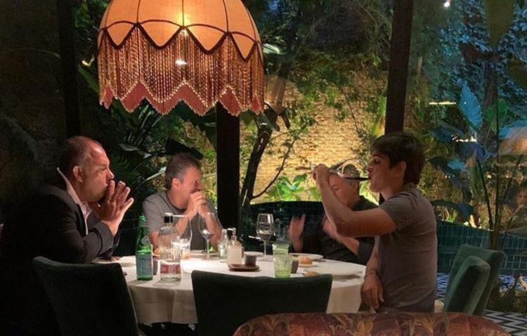 Representantes do Flamengo estão na Europa e chegaram a se reuniram com Torrent no último sábado | Foto: Reprodução