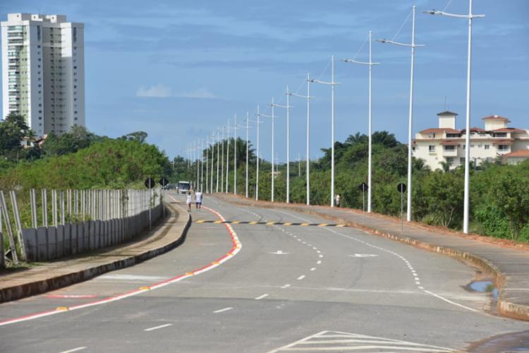 Via tem o objetivo de melhorar o trânsito no local | Foto: Valter Pontes | Secom - Foto: Valter Pontes | Secom