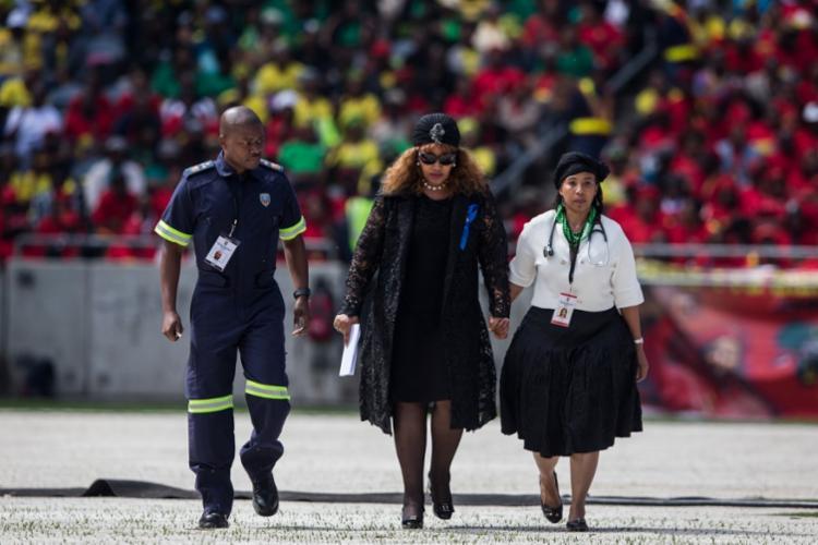 Ainda não se sabe a causa da morte de Zindzi Mandela | Foto: Wikus De Wet | AFP - Foto: Wikus De Wet | AFP