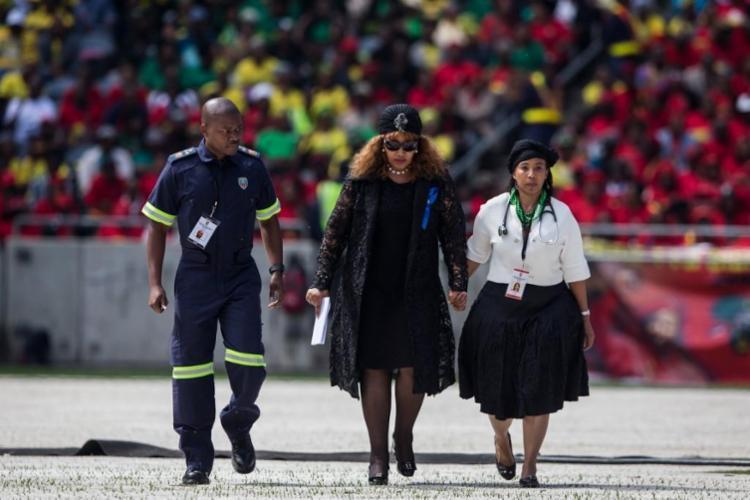 Filha de Nelson Mandela morreu nesta segunda-feira, aos 59 anos - Foto: Wikus De Wet   AFP