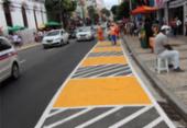 Após requalificação, ambulantes vão deixar calçadas da avenida Sete | Foto: Divulgação | Secom