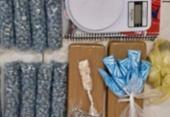 Suspeito de tráfico é preso com 1.400 trouxas de maconha no Pelourinho | Foto: Divugação | SSP