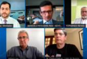 Mesa redonda debate pontos da reforma tributária do país | Foto: Reprodução