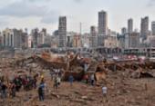Doadores ajudam na recuperação do Líbano | Foto: STR | AFP