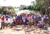 Moradores de Itapuã protestam pela sexta vez contra obras na Lagoa do Abaeté | Foto: Divulgação