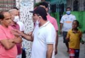 Subprefeito de Itapuã é flagrado em aglomeração e com uso incorreto de máscara | Foto: Divulgação