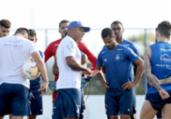 Bahia encerra preparação para estreia contra o Coritiba   Felipe Oliveira   EC Bahia