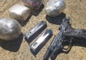 Homem é preso ao tentar arremessar drogas em presídio | Divulgação | SSP
