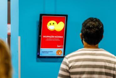 Aeroporto de Salvador utiliza de tecnologia para evitar aglomeração nos banheiros | Divulgação