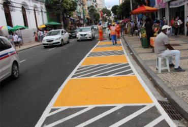 Após requalificação, ambulantes vão deixar calçadas da avenida Sete | Divulgação | Secom