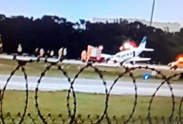 Avião tem falha mecânica e faz pouso de emergência no aeroporto de Salvador | Cidadão Repórter | A TARDE