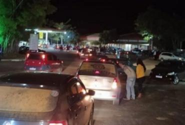 Carreata com som e buzinaço percorre Belo Campo em plena pandemia