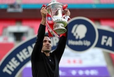 Arsenal vence Chelsea por 2 a 1 e conquista a Copa da Inglaterra   Reprodução   Justin Tallis   AFP