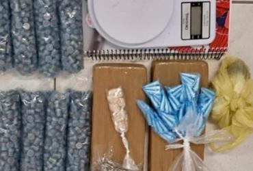 Suspeito de tráfico é preso com 1.400 trouxas de maconha no Pelourinho | Divugação | SSP