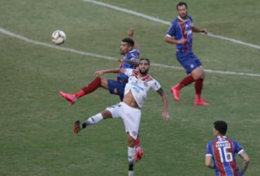Bahia precisa dos pênaltis para superar Atlético e ser tri do Baianão | Adilton Venegeroles | Ag. A TARDE