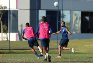 Com Gilberto em campo, Bahia realiza trabalho tático visando o RB Bragantino | Felipe Oliveira | EC Bahia