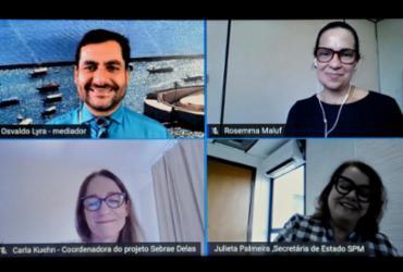 Empreendedoras baianas debatem o pós-pandemia | Shirley Stolze | Ag. A TARDE