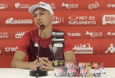 Feliz por estreia, Marcelinho elogia elenco do Vitória e compara a nível europeu | Reprodução | TV Vitória
