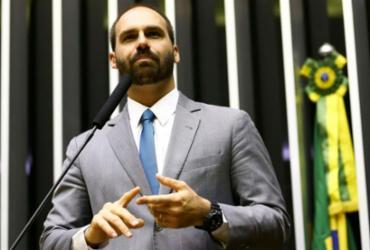 Eduardo Bolsonaro entregou lista de militantes antifascistas aos EUA, diz deputado   Marcelo Camargo   Agência Brasil