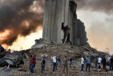 Embaixada do Líbano pede ajuda humanitária após explosão em Beirute | STR | AFP
