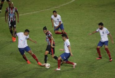 Bahia esbarra na defesa do Atlético-BA e placar não sai do zero | Adilton Venegeroles | Ag. A TARDE
