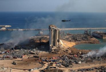 Após explosão, governo do Líbano coloca funcionários de porto em prisão domiciliar | STR | AFP