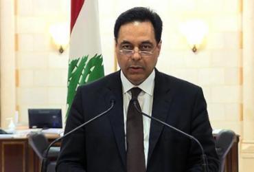 Primeiro-ministro do Líbano, Hassan Diab renuncia após protestos | Télé Liban | AFP
