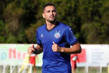 Gilberto deve reforçar o Tricolor contra o Bragantino | Felipe Oliveira | EC Bahia
