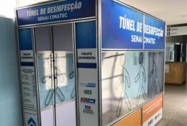 Hospital Geral de Guanambi passa a contar com túnel de desinfecção
