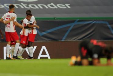 Leipzig elimina Atlético de Madrid e pega PSG nas semifinais da Champions | Miguel A. Lopes | AFP