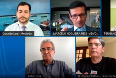 Mesa redonda debate pontos da reforma tributária do país   Reprodução