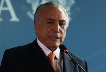 Temer é autorizado pela Justiça Federal para viajar ao Líbano | Valter Campanato | Agência Brasil
