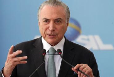 Temer terá que pedir autorização para ir ao Líbano a pedido de Bolsonaro | Antonio Cruz | Agência Brasil