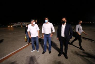 Ministro do Turismo e Jonga Bacelar são recebidos em Porto Seguro por Jânio Natal